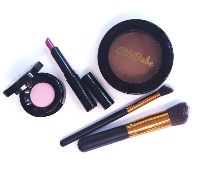 Pretend Play Makeup Set - Chic To Go Pretend Play Makeup Set - No color, No mess! - pretend play - pretend - fake makeup - kids cosmetics