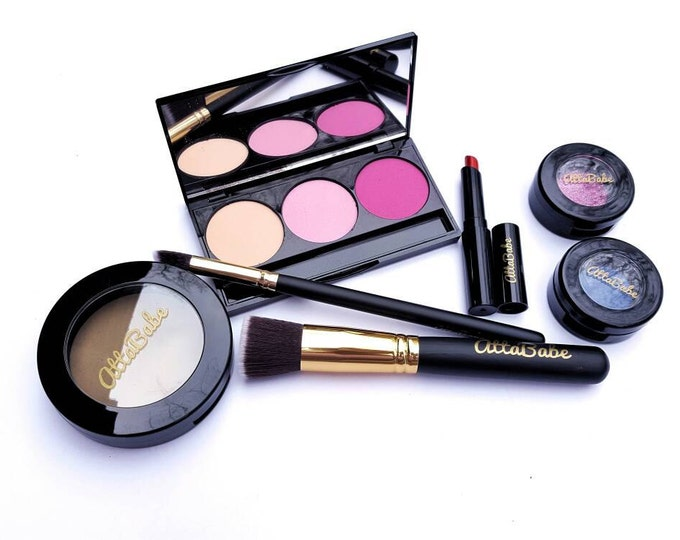 Pretend Makeup Set - Glam Squad Pretend Play Makeup Set - No color, No mess! - pretend play - fake makeup - kids cosmetics - pretend