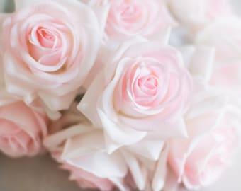 Blush silk flowers etsy 5pcs 20pcs blush pink real touch roses silk flower silk flowers for diy wedding bridal bouquet boutonniere corsage home deco mightylinksfo