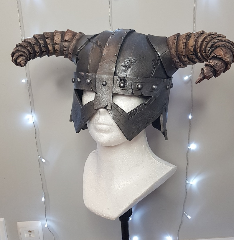Adult Size EVA foam costume cosplay Dovakiin Helmet Skyrim Inspired Dragonborn