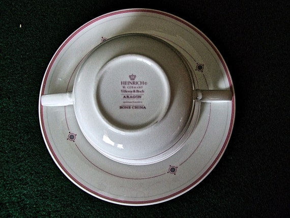 Villeroy /& Boch Heinrich Aragon taza de café Taza platillo