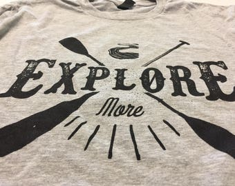Kayak Canoe River Explore More Unisex T-Shirt