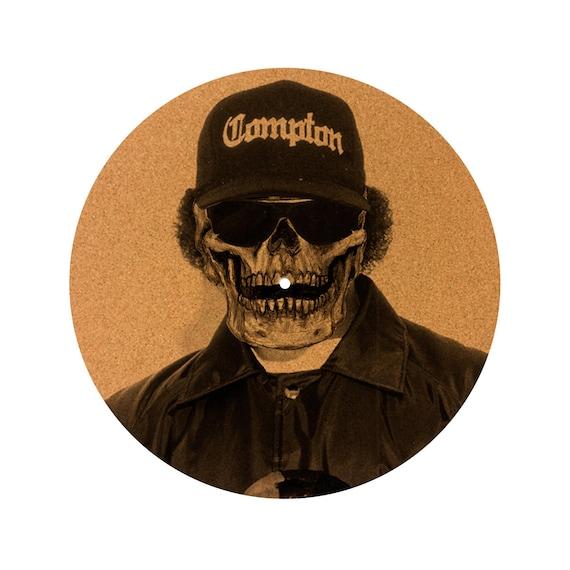 DJ slipmat LP record player turntable Eazy E N.W.A DJ Industries