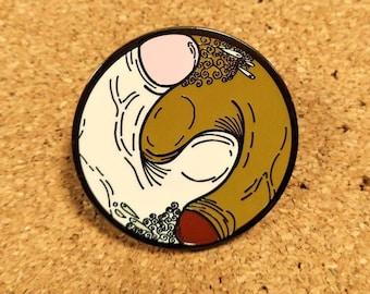 Fascinated Balance in Unison pin