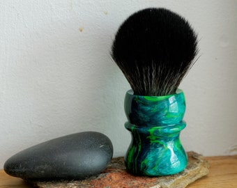 Shaving Brush - Hand-Made with Jungle Moss Handle and a Choice of Knots