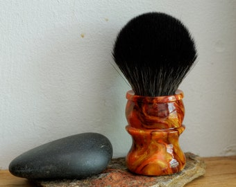 Shaving Brush - Hand-Made with Royal Harvest Resin Handle and a Choice of Knots