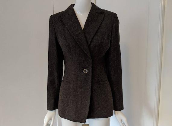 vintage 90s Blazer Jacket/Dabi/Women's Jacket/wome