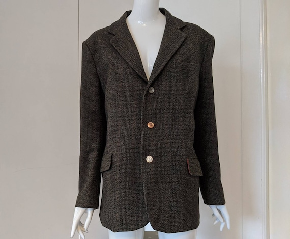 Vintage 60s Bute Tweed Jacket/Mens Tweed/Womens Cl