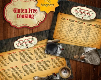 Gluten Free Cooking Conversion Chart & Gravy Thickeners