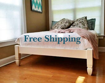 Platform Bed Hairpin Leg Bed Hairpin Legs Industrial Bed Etsy