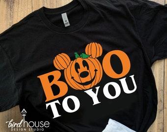 Boo to you Halloween Lanyard