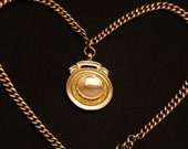 Antique Rose Gold Necklac...