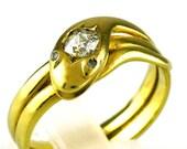 Antique Victorian Diamond...