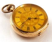 Antique 14K Gold Pocket W...
