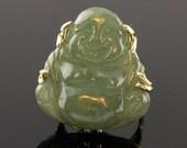 Vintage Chinese Green Jad...