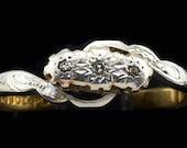 Art Deco Diamond Ring 18K...