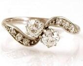 Antique Platinum Diamond ...