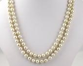 Vintage Pearl Necklace  Y...