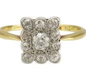 Unusual Antique Diamond C...