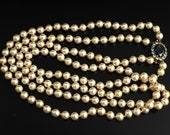 Antique Pearl Necklace wi...