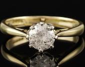 Vintage Diamond Solitaire...
