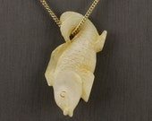 Chinese Carved Jade Fish ...