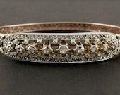 Vintage Diamond Bangle / ...