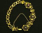 Antique Rose Gold Garnet ...