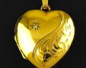 Vintage Yellow Gold Diamo...