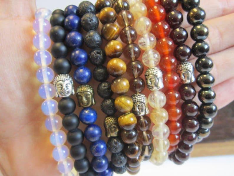 Natural Faceted Citrine Bracelet Men Solar Plexus Sacral Chakra Healing Citrine Abundance Bracelet Men Citrine Mala Minimalist Citrine Mala