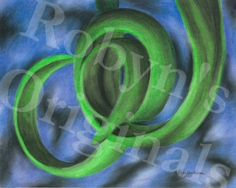 Green Vine Art Print