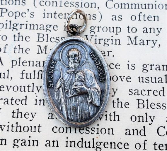 DON/'T QUIT PRAYER COIN ST JUDE Pocket Medal in a Prayer Wallet