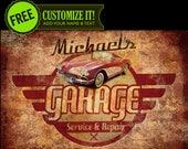 Vintage - Retro Garage Au...