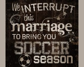 SOCCER season. We interru...