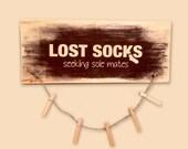 Lost Socks Seeking Sole M...