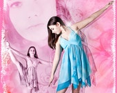 "Ballet Dance Collage 24x36"" Photoshop Template for Photographers"