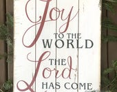 Joy to the World the Lord...