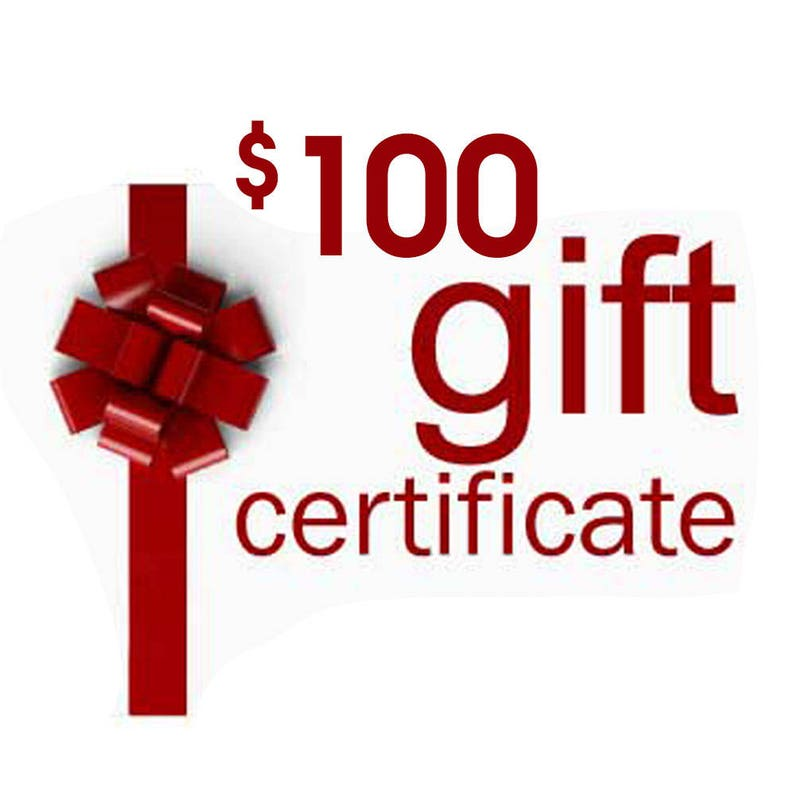 Gift Certificate Gift Card Anything Photos Custom image 0
