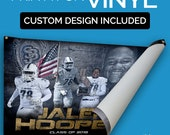 Custom Designed Sports Banner printed on Vinyl - Sportrait Design and Banner Printing School team Sports