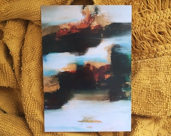 """CS Original Abstract Print titled """"All Things New"""""""