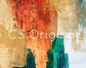 """CS Original Abstract Print titled """"You Never Change"""""""