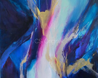 CS Original Abstract Print