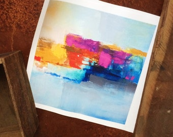 CS Original Abstract Art Print