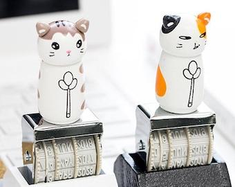 Cat Stamp, Date Stamp