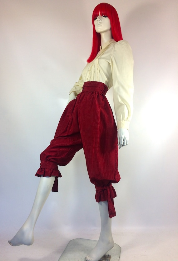 1970s vintage cream cotton prairie blouse / brode… - image 5