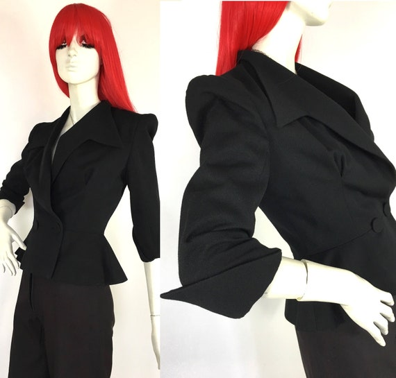 Vintage 1970s Sheilagh Brown for Quorum Deco jacke