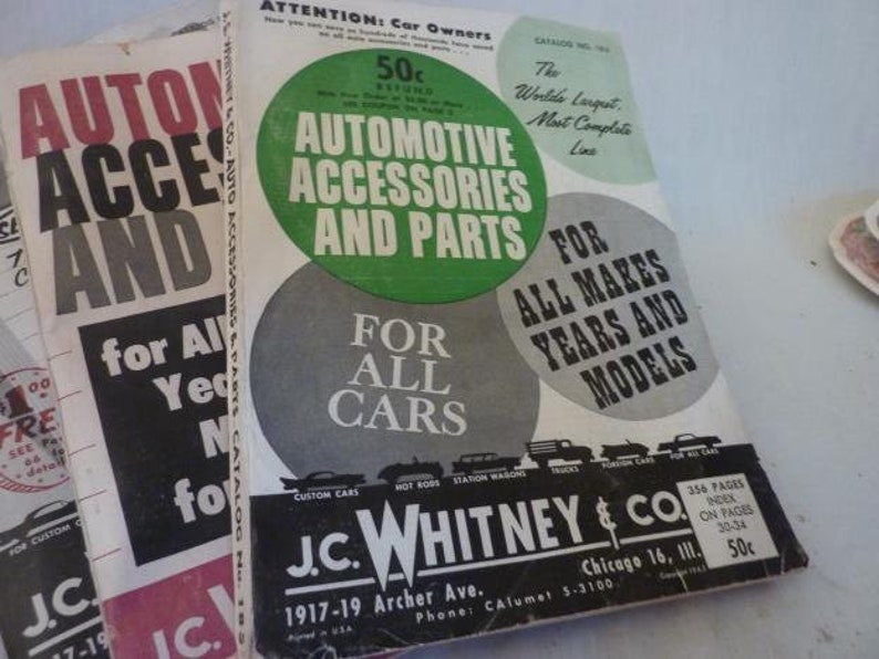 JC Whitney Catalog Collection