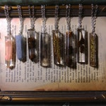 Necklace: The Moods of Life | resin elven jewelry