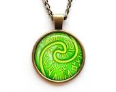 Necklace Heart of Te Fiti Moana Vaiana Disney