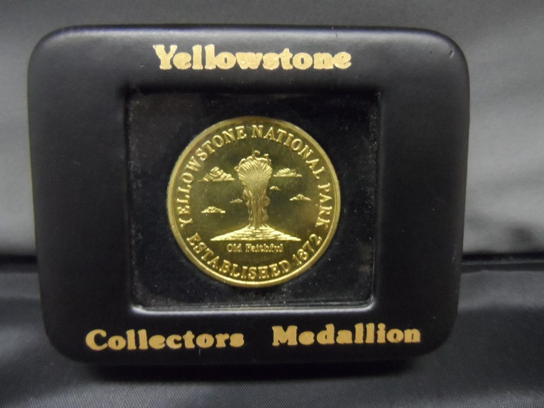 1872 Yellowstone National Park Established Bronze